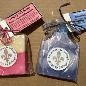 image of Grapefruit and Acai Berries Soaps