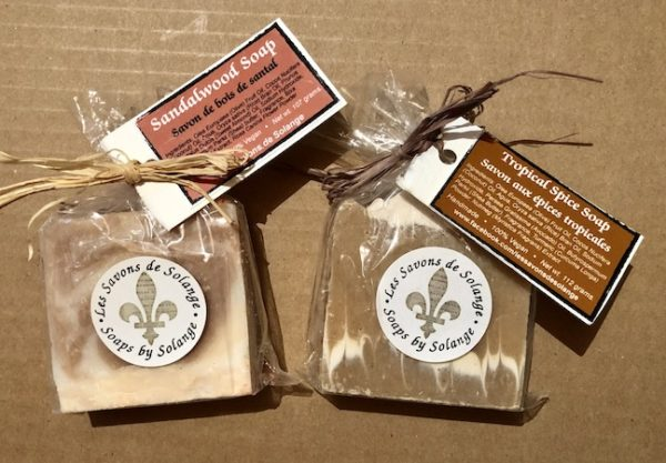 Image of Sandalwood & Tropical Spice (for Men) soaps